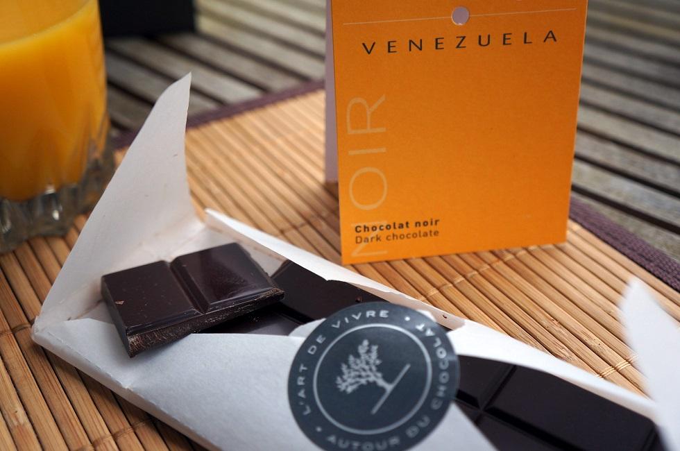 Chocolat vénézuélien - Un dimanche à Paris